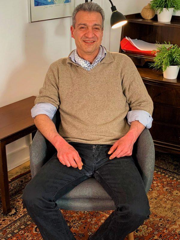 Mohammad  Har erfaring med stress   Læs mere om hans terapi